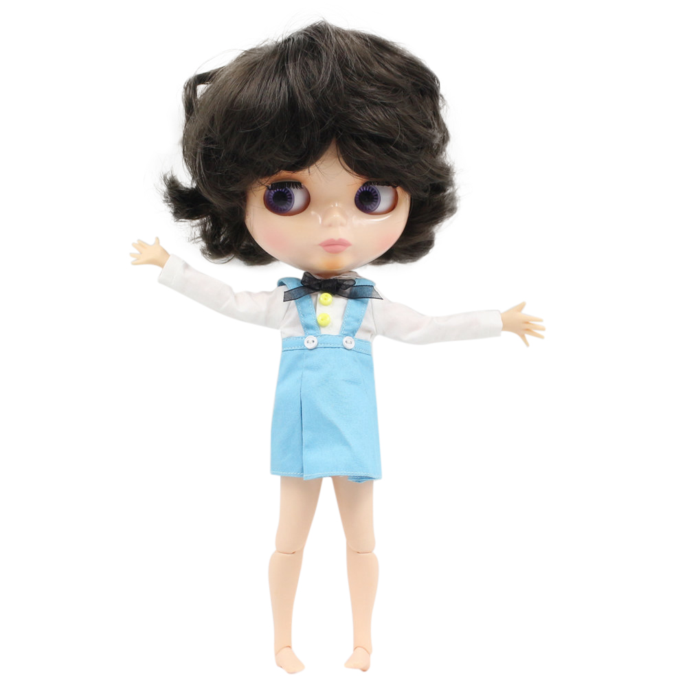Blyth doll joint body Nude Blyth Dolls factory 950 male body Doll short hair suitable for
