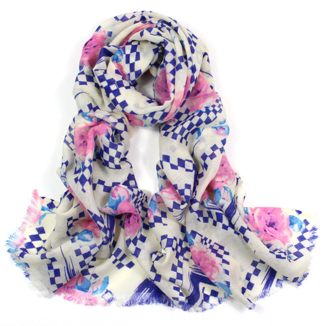 ladies scarves 2015,Plaid shawls,rose flower print,floral hijab,brand scarf,wool scarf,cape,pashmina cashmere,shawls and scarves