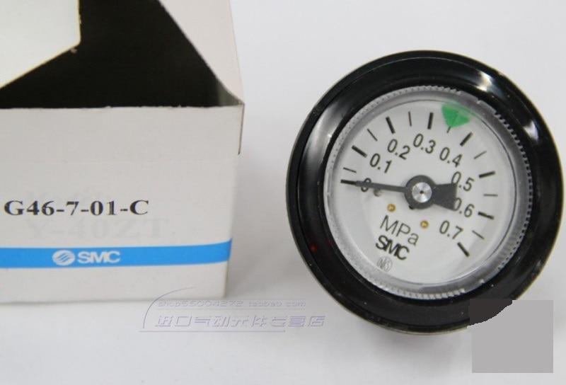 BRAND NEW JAPAN SMC GENUINE GAUGE G46-7-01-C brand new japan smc genuine pressure switch pse561 01
