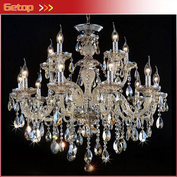 10 5 Arms Modern Crystal Chandeliers K9 Crystal Lamp