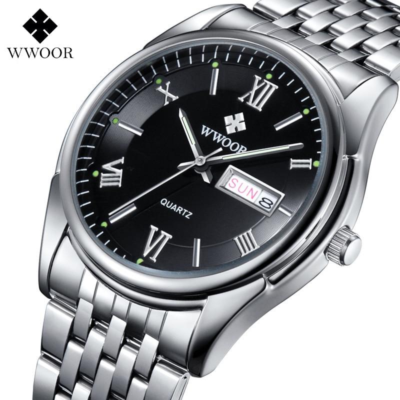 WWOOR Top Brand Men's Watches