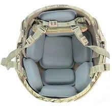 ФМА Тактический защитный коврик для CP шлем замена колодок Подвеска набор мягкой Подушки Pad Airsoft Охота шлем Аксессуары