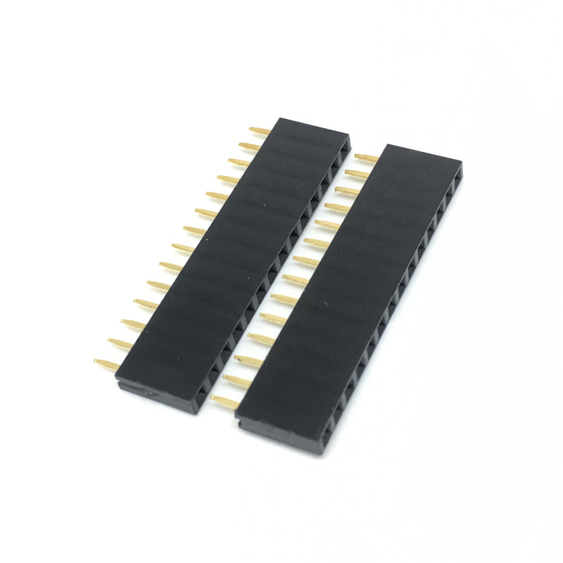 2.54 mm ESS-110-T-03 Pack of 20 Through Hole 10 Contacts ESS Series Board-To-Board Connector 1 Rows, Receptacle