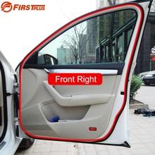 Universal Automotive Rubber Seal Car Front Rear Doors Trunk Boot Bonnet Sealing Strips Trim Strip For Saloon Hatchback SUV MPV