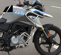 BUMPER UPPER CRASH BAR EXTENSIONS FOR BMW G310GS 2017 ON Engine Bumper Upper and lower bumpers