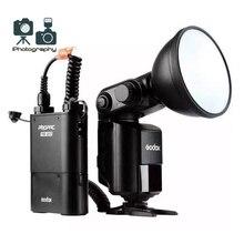 Godox ad360ii-c 360 Вт gn80 E-TTL вспышка Speedlite Встроенный 2.4 Г x Беспроводной Системы + PB960 Батарея