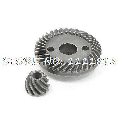 Electric Power Tool Spiral Bevel Gear Set for RYOBI 100 Angle Grinder angle grinder spare part spiral bevel gear set for hitachi 180 angle grinder page 3