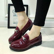 Hot Sale British Style Fashion Shoes 2016 Spring Shallow Mouth Leisure font b Woman b font