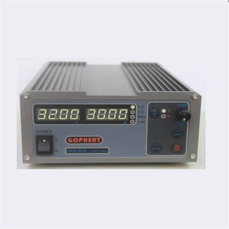 CPS 3232 1000W 0 32V 0 32A High power Digital Adjustable Laboratory DC Power Supply 220V