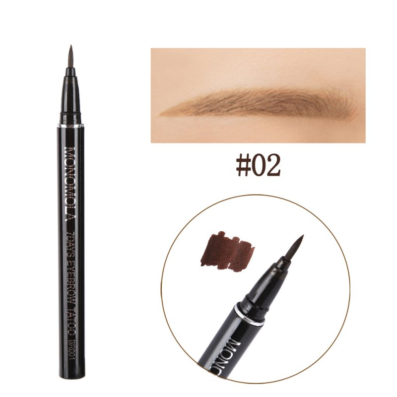 1Pc Profession Makeup Product Waterproof Brown Eye Brow Eyebrow Tattoo Pen Liner Long Lasting Makeup Cosmetic image