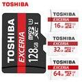 Toshiba cartão de memória de 128 gb 64 gb 32 gb uhs-3 max velocidade de leitura 90 m/s 16 gb cartão micro sd class10 uhs-1 cartão de memória flash Microsd