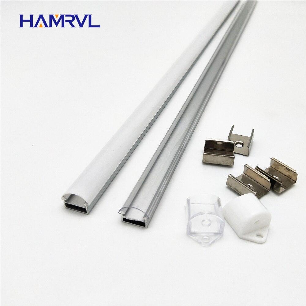 10 100m a lot 1m per pcs led aluminum profile for 5050 5630 strips HR AP1509