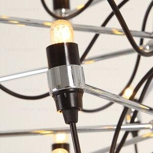 Image 5 - Nowoczesne żyrandole oświetlenie domu lampa wewnętrzna nabłyszczania de para cristal sala de janta żyrandol do jadalni salon sypialnia