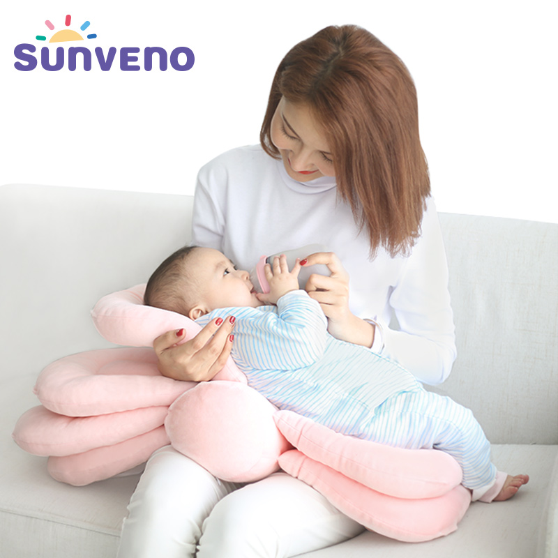 lovely nursing pillow u shaped cuddle baby seat infant safe dining chair cushion unique pillow comfortable infant sitting chair SUNVENO Baby Breastfeeding Pillow Multifunction Nursing Layered Cover Adjustable Model Cushion Infant Feeding Pillow Baby Care
