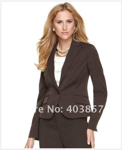 Brown Womens Suit