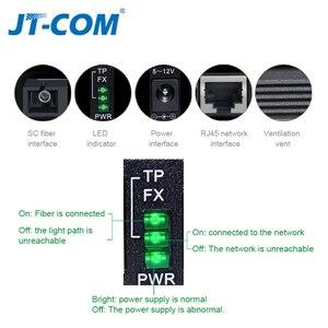 Image 5 - DC 5V 12V 20KM 1000M Mini Gigabit Media Konverter Glasfaser bis RJ45 Einzigen Modus ethernet Schalter Optische Transceiver SM SC FTTH