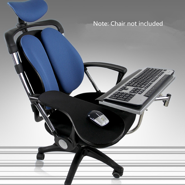 Multifunctional Full Motion Chair Cl&ing Keyboard/Laptop Desk Holder+ Square Mouse Pad +Chair Arm Cl&ing Mouse Pad & Online Shop Multifunctional Full Motion Chair Clamping Keyboard ... islam-shia.org