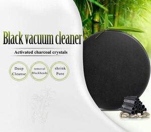 Мыло для лица из черного бамбукового угля, глубокое очищение, ручная работа, отбеливание, уход за кожей, удаление угрей, Прямая поставка TSLM1