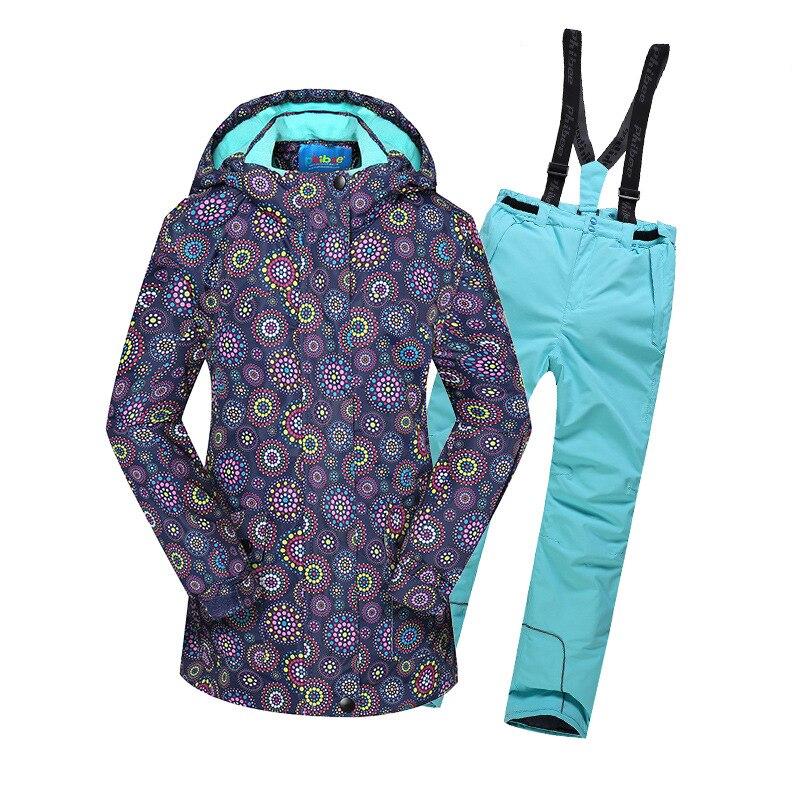 Dollplus 2019 Children Sets Winter Sport Suit For Girl Clothes Kdis Girls Warm Jacket Set Windproof Waterproof Outdoor Suits