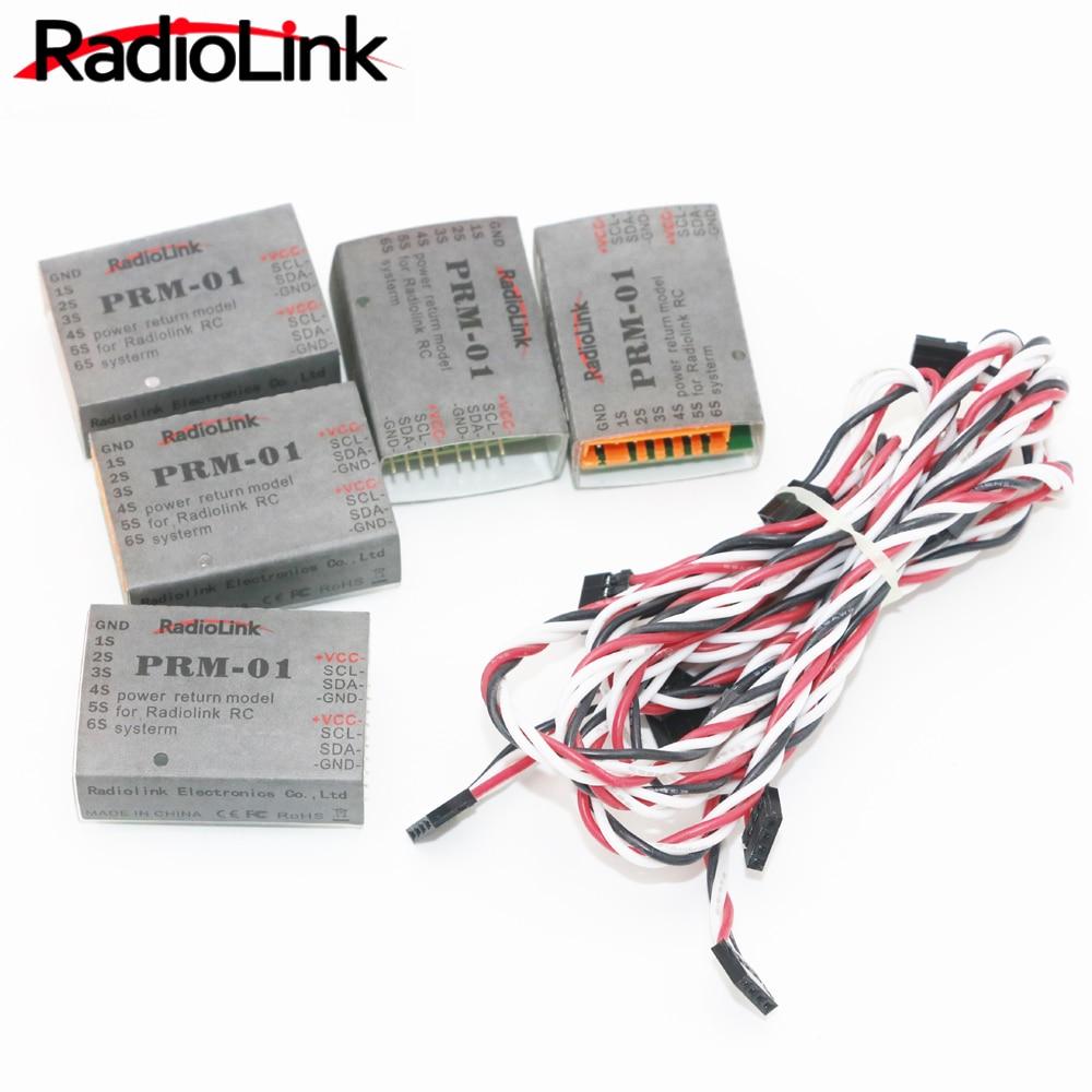 5pcs/lot Radiolink PRM-01 Power Return Module fr Radio Remote Control System AT9 AT10 new fr a7nc cclink module