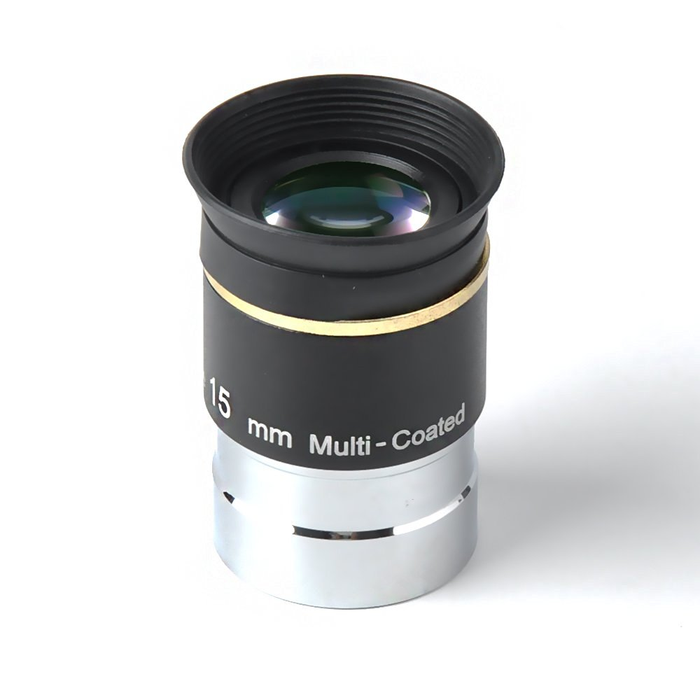 ФОТО 15mm 1.25inch WA66 Urtrawide Eyepiece for Telescopes Threaded for Standard 1.25inch Astronomy Filters