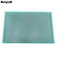 Di alta qualità 12x18cm Double Side Prototype PCB Universale Printed Circuit Board