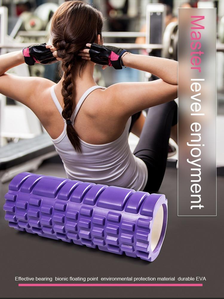 Foam Roller para Pilates Fitness Gym Massagem