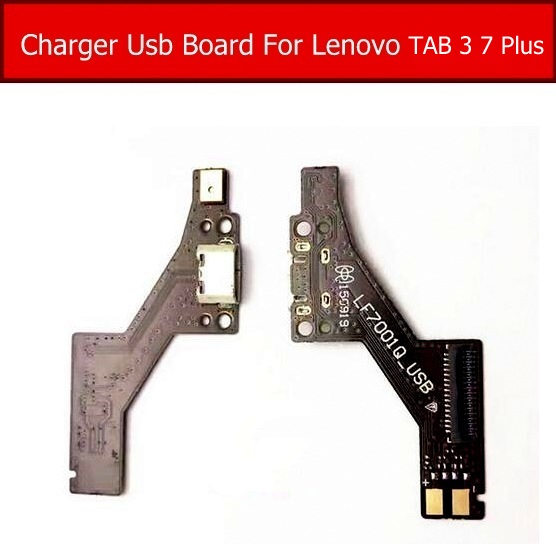 USB Charger Jack Port Board For Lenovo Tab 3 7 Plus TB-7703X 7703F 7703N Charging Usb Dock Board Tablet Replacement LF7001Q_USB