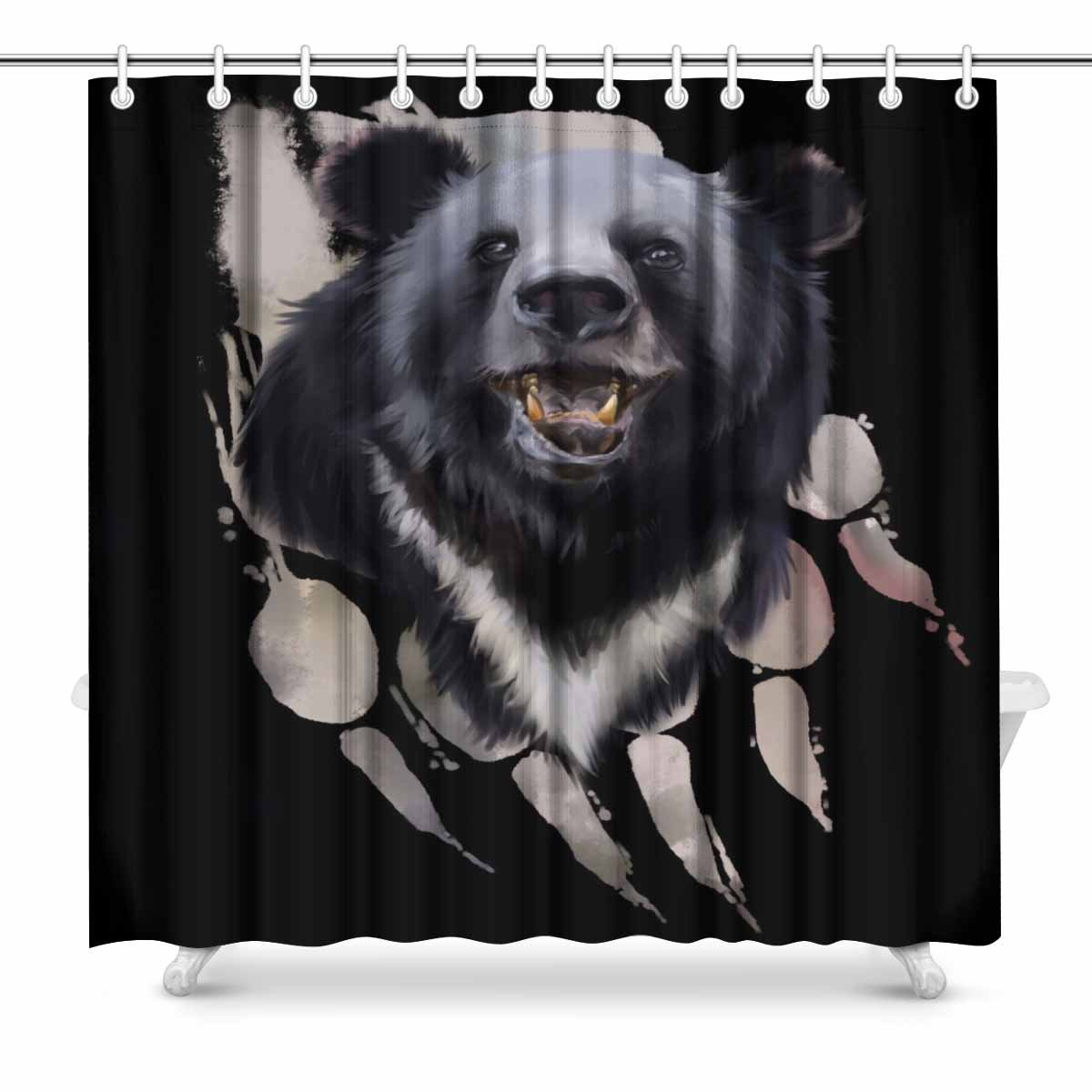 Health & Beauty Modest Aplysia Two Pigs Male And Female In Love Looking At A Cute Yellow Flower In The Meadow Bathroom Accessories Shower Curtains