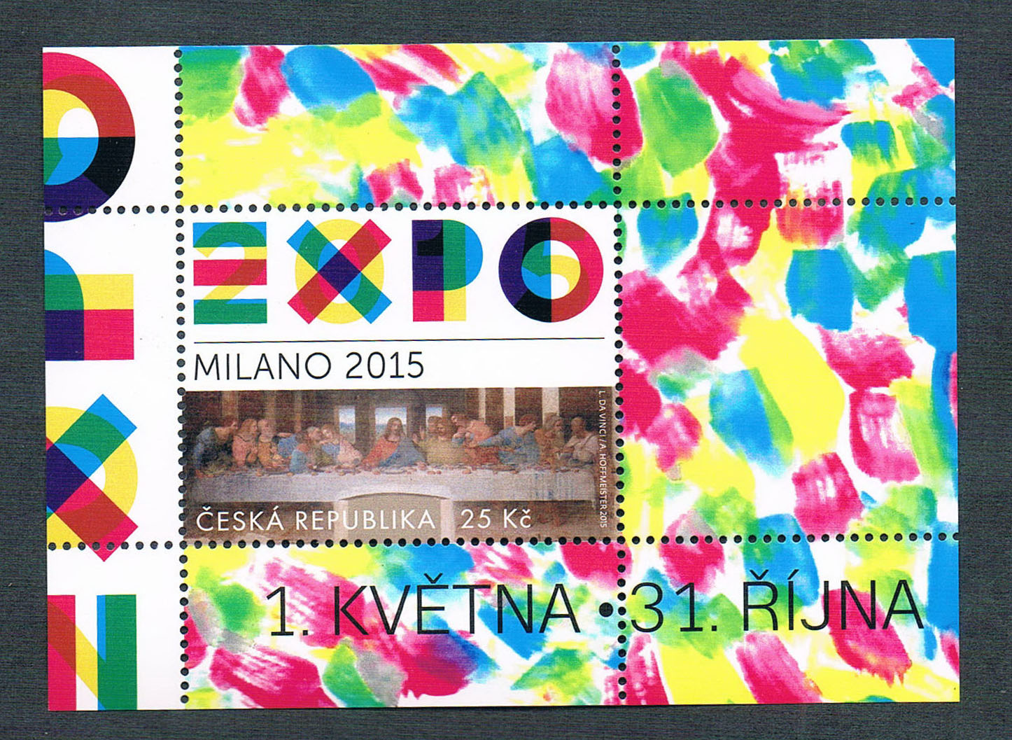 CR0528 Czech Expo 2015 Milan Da Vinci's Last Supper 1M new 0610 100% new for board controller xqb60 0528 xqb55 0528 0034000808e motherboard