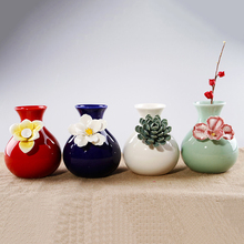 4 color Ceramic Flower Vase  tabletop Vases vases for weddings Decoration decoration flower Office