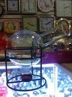 European Style Glass Coffee Pod With Tealight Warmer Tea Pot Glassware Set