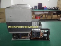 12 24v Super Mini Condensing Unitsystem For 12V 24V Solar Refrigerator Solar Fridge Solar Freezer