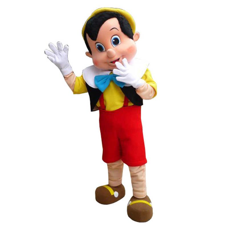 bf7738952 Disfraz de Mascota de Pinocho disfraz de Halloween para adultos ...