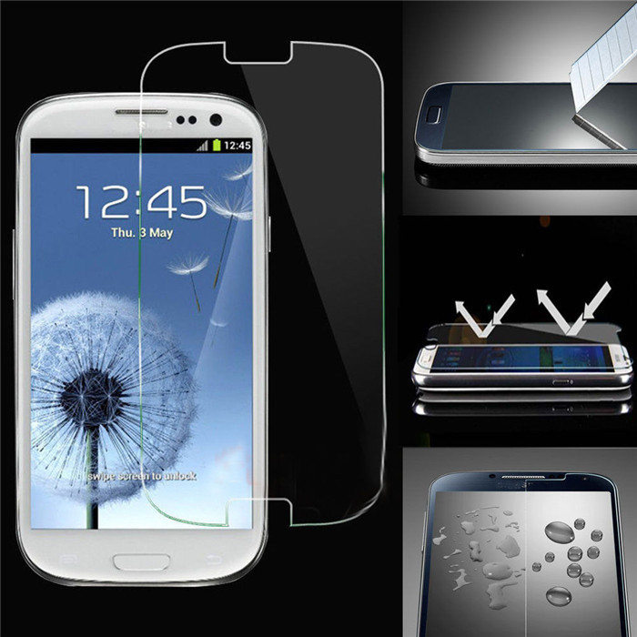 Screen protector Tempered glass for Samsung Galaxy 3 S3 i9300 Neo i9301 no packing