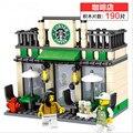 Mini Street Scene Retail Store Shop Architecture With Building Blocks Sets Model Figures Toys