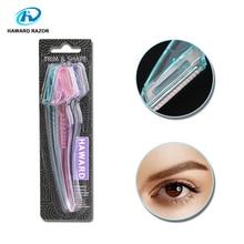HAWARD RAZOR Disposable Eyebrow Razor Lady Trimmer Single Blade Beauty 3/9Pcs