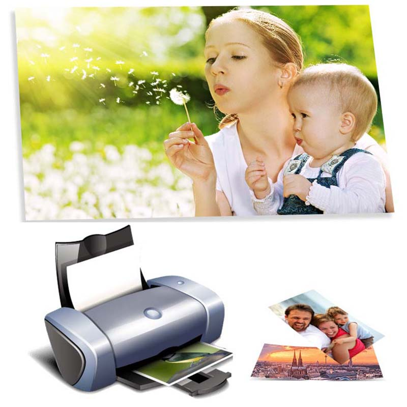 Photo-Paper Inkjet Paper-Printing Printers 100-Sheets Office-Supplies A5 For 3R 5R A3