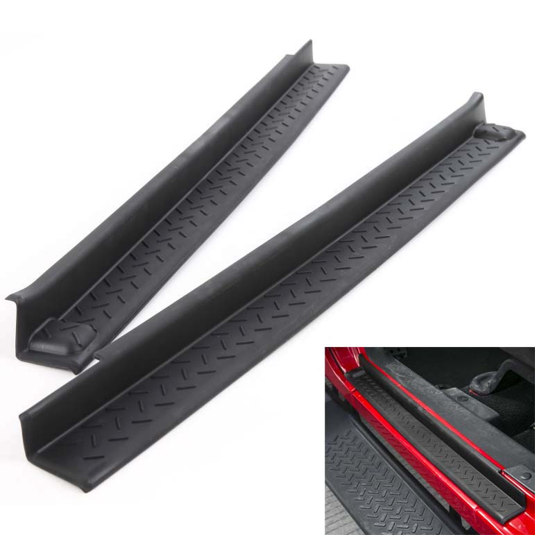 Areyourshop Car Interior Abs Plastic Door Entry Guards For Jeep