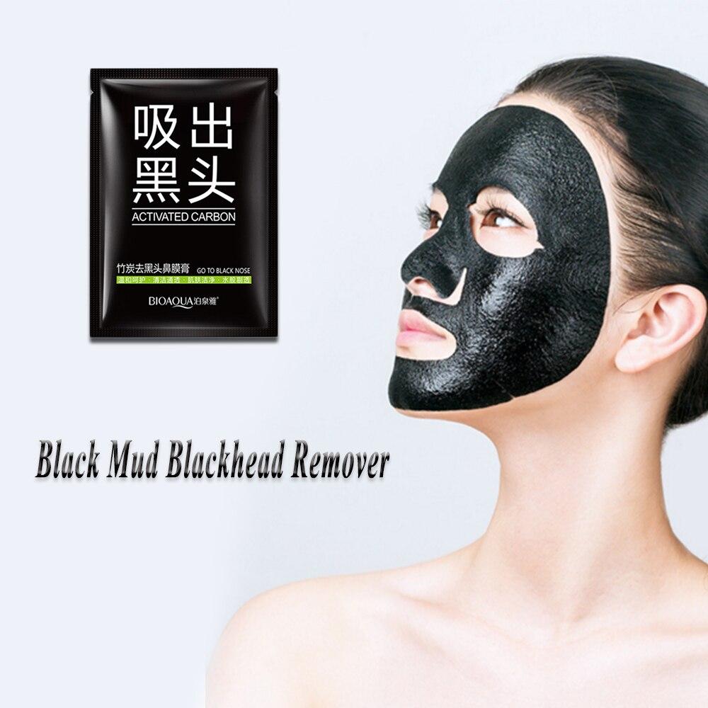 1pcs Black Mud Peel Off Deep Cleansing Acne Treatment Face Care Maquiagem Base Contour Foundation Skin Beauty Base Primer