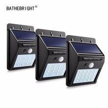 Lights Lighting - Outdoor Lighting - Solar Rechargeable LED Solar Light Bulb Outdoor Garden Lamp Decoration PIR Motion Sensor Night Security Wall Light Waterproof