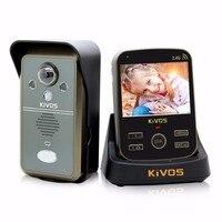 KiVOS Wireless Video Door Phone Intercom 3 5 Inch TFT Monitor Night Vision Camera Take Picture