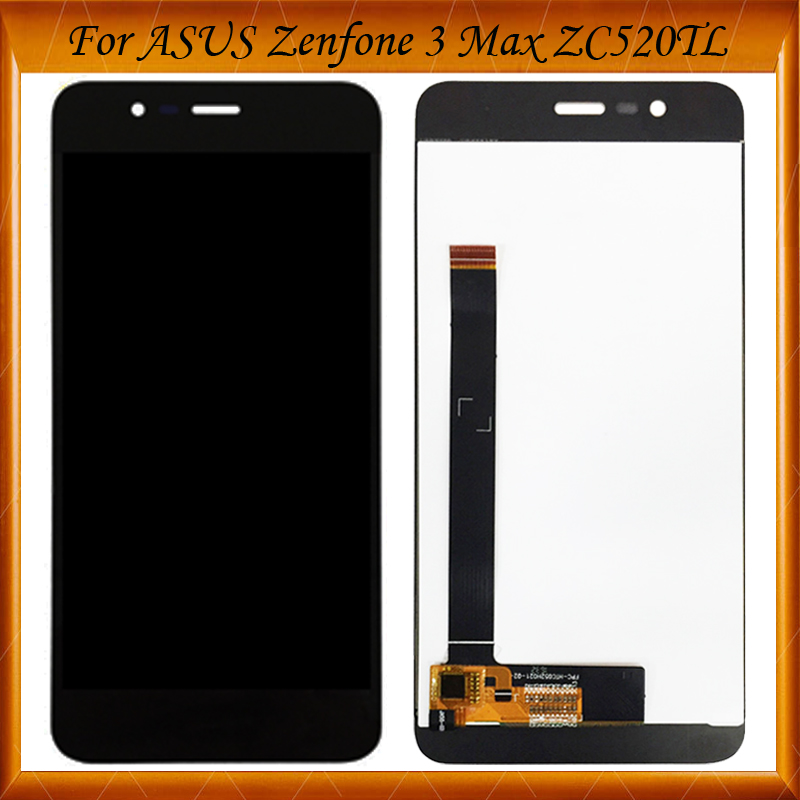 100% Working Well For <font><b>ASUS</b></font> <font><b>Zenfone</b></font> <font><b>3</b></font> <font><b>Max</b></font> <font><b>ZC520TL</b></font> LCD Touch Screen Digitizer Assembly For <font><b>ASUS</b></font> <font><b>Zenfone</b></font> <font><b>3</b></font> <font><b>MAX</b></font> <font><b>ZC520TL</b></font> <font><b>Display</b></font> image