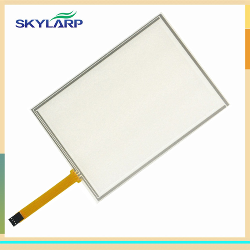 skylarpu NEW 8 Inch 4 Wire Resistive Touch Screen Panel USB 183mm*141mm for EJ080NA-04C touch panel Glass Free shipping