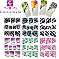 KADS HOTSALE 11sheet/LOT  F012-041 French water decal nail sticker for water sticker nail art Fashion nail accessories