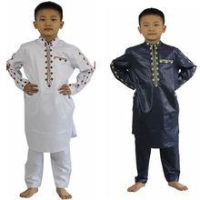 2017African new fashion boy childrens clothing design style Africa Dashiki cotton Bazin materials TZ2804