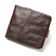 men wallet genuine leather coin bgas 2109 fashion hasp purse porcket
