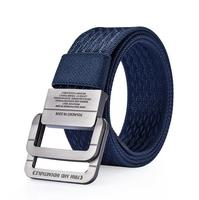 Design Mens Leather Braided Elastic Stretch Cross Buckle Casual Golf Belt Waistband Of Color Elastic Mixed