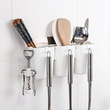 Multi function Magic stick belt hook Draining rack seamless kitchen storage 28.4*8*11.5cm