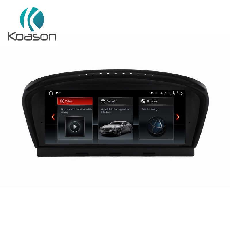 "Koason 8,8 ""Экран Android 7,1 автомобильных аудио-видео мультимедиа плеер для BMW серий 5 E60 E61 E62 Wi-Fi, Bluetooth, gps навигация"